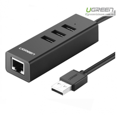 UGREEN USB 2.0 WIRED NETWORK ADAPTER  (30298)